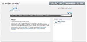 Homepage Snaphot
